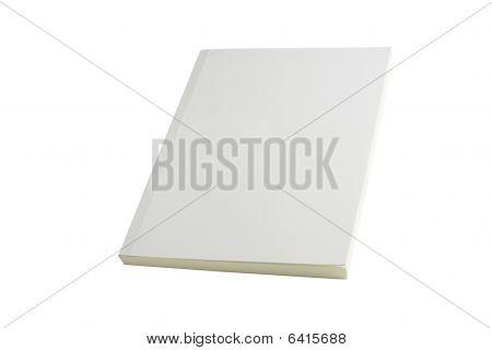 White Blank Book