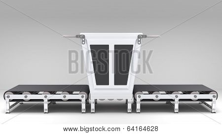 Conveyor Belt With Transformer