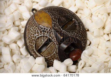 African Circular Mask