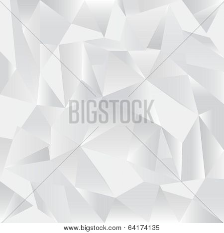 white paper creased pattern eps10