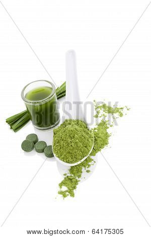 Green Algae Superfood.