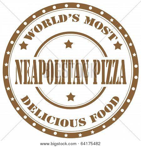 Neapolitan Pizza-stamp