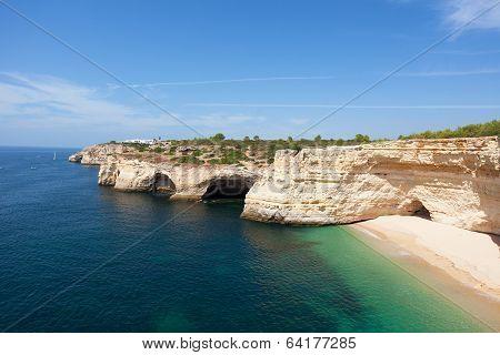 Praia de Benagil beach
