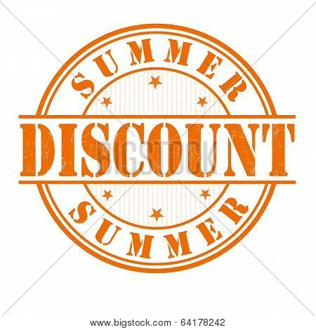 Summer Discount Stamp