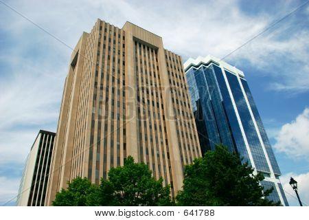 Innenstadt-Bürogebäude