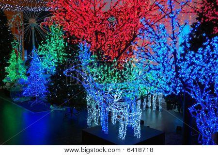 Iluminación eléctrica de Navidad