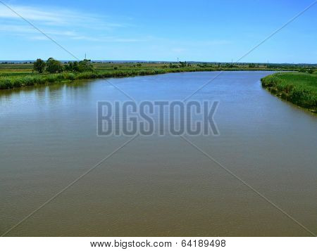 The Famous River Limpopo. Africa, Mozambique.