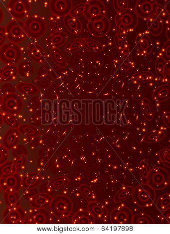 circulation of blood, abstract background
