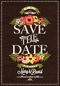 pic of chevron  - Save The Date  - JPG