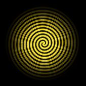 image of hypnotic  - Retro Vintage Grunge  Hypnotic Background - JPG