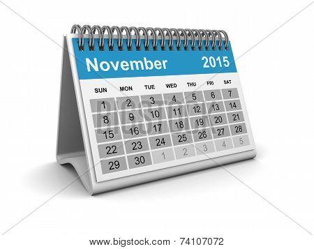 Calendar 2015 - November