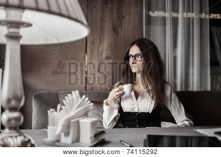 Business Mood And Coffee