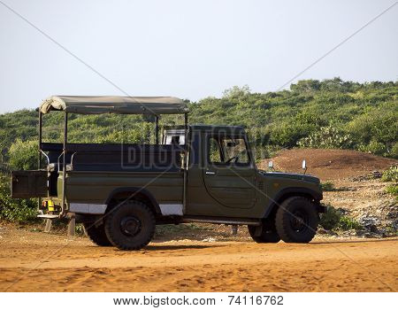 Jeep For Tourist Safari