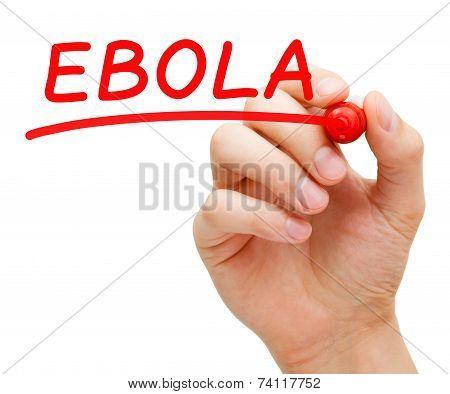 Ebola Red Marker