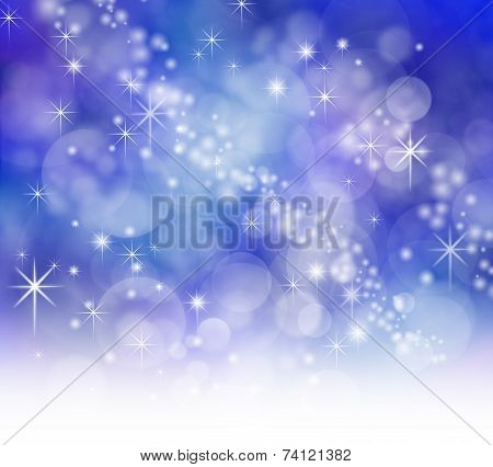 Starry Sparkly Bokeh background