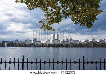 Upper West Side Skyline From Central Park, New York City