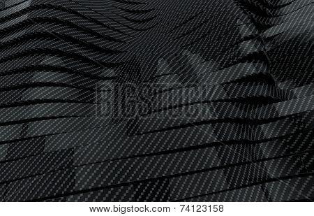 carbon stripes background