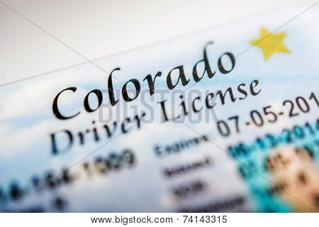 Colorado Driver License