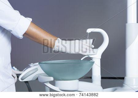 Filling A Plastic Cup