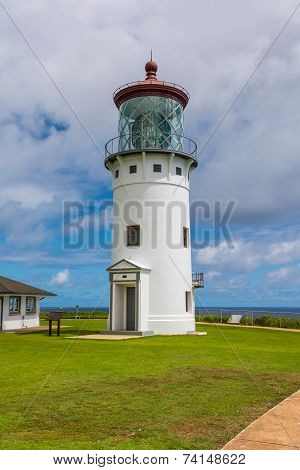 The lighthouse of Kilauea, Hawaii
