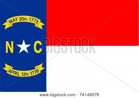 North Carolina State Flag