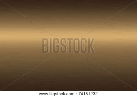 Bronze or brass metal background.