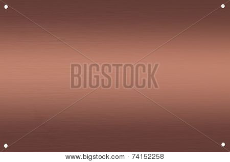 Abstract copper background.