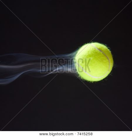 Tennis Ball Smoking