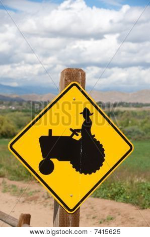 tractor sign