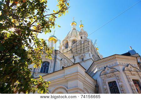 Pokrovsky Cathedral in Sevastopol the Crimea Russia