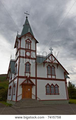 Husavik Church, Northern Iceland