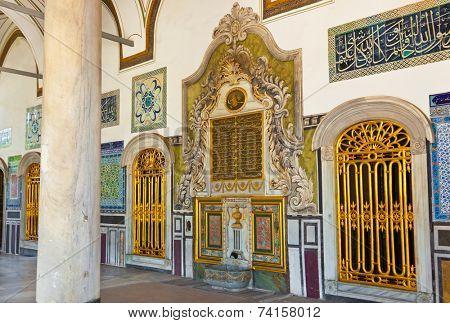 Topkapi Palace at Istanbul Turkey - travel architecture background