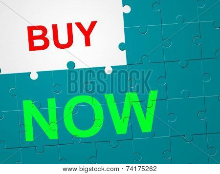 Buy Now Indicates At This Time And Bought