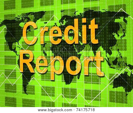 Credit Report Shows Debit Card And Analysis