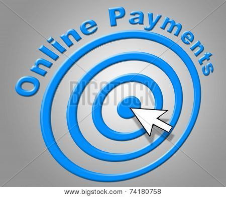 Online Payments Means World Wide Web And Www
