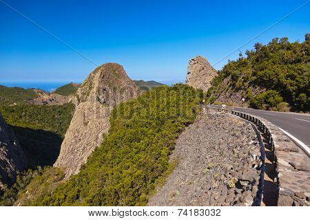 Rocks in La Gomera island - Canary Spain
