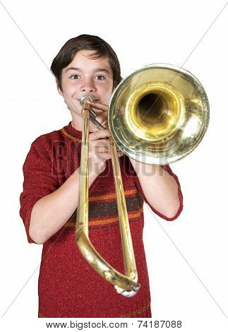 Boy With A Trombone