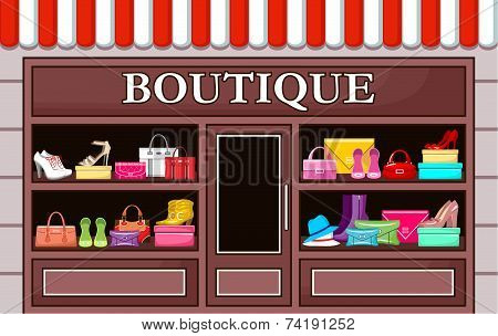 Fashion boutique.