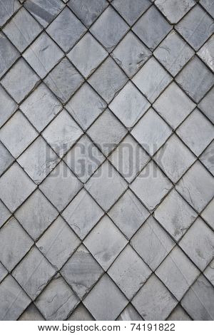 photography of a detailed slate rhomb texture