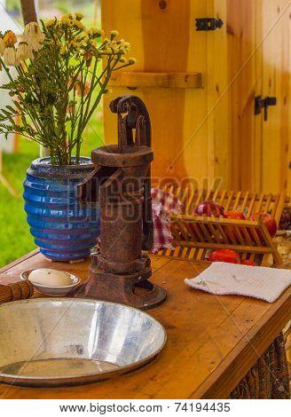 Antique Hand Water Pump
