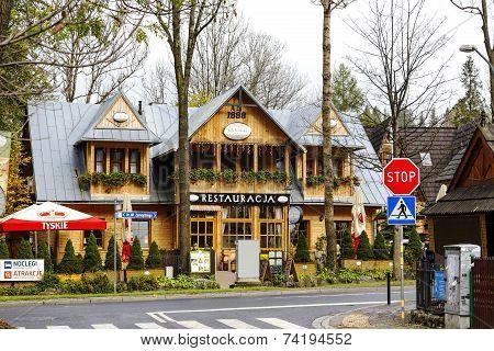 Restaurant Called Little Switzerland In Zakopane