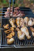 stock photo of brazier  - Chicken - JPG