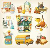 foto of school lunch  - Back to school set - JPG