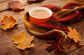stock photo of poetry  - Autumn leaves - JPG