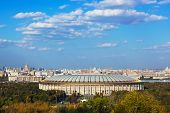 picture of olympic stadium construction  - Stadium Luzniki at Moscow Russia  - JPG