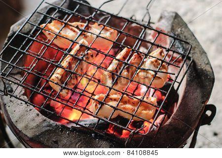 Roast Squid