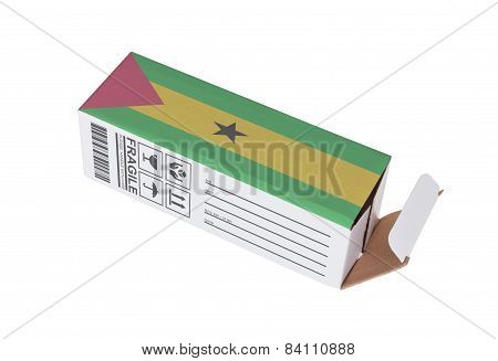 Concept Of Export - Product Of Sao Tome And Principe
