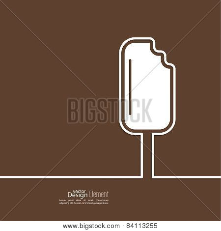 Ice cream on a stick