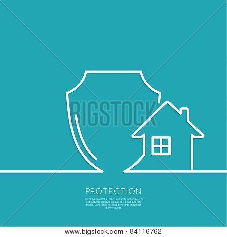 Shield symbol.