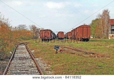 Old Railway Turnouts